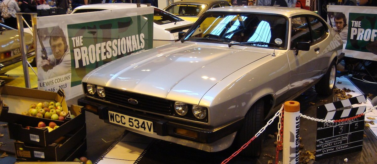 Ford Cortina Mk3 3.0L S similar to the one used by The Professionals