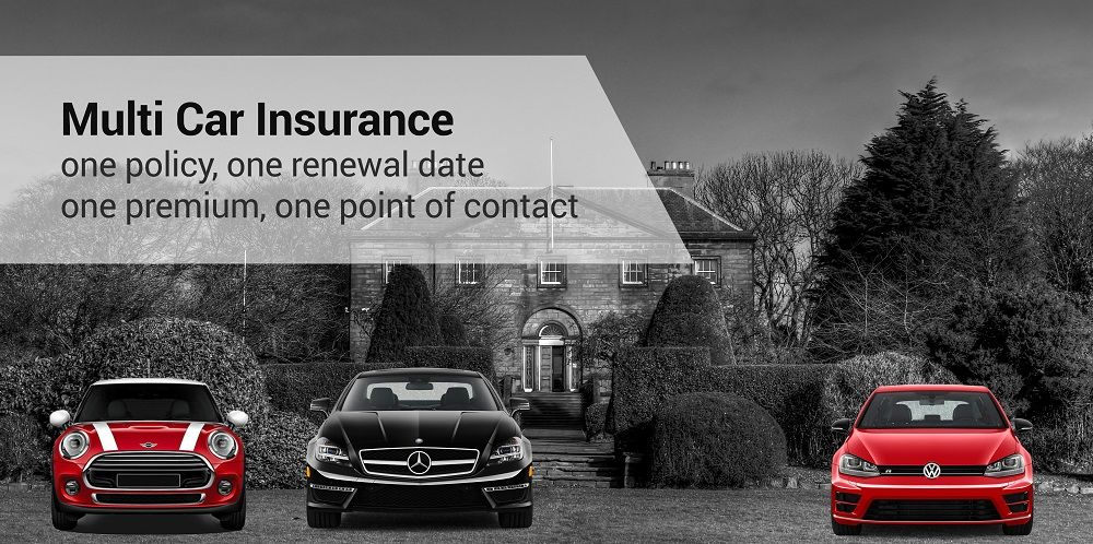 Multi Car Insurance policy with a Volkswagen, Mercedes and Mini