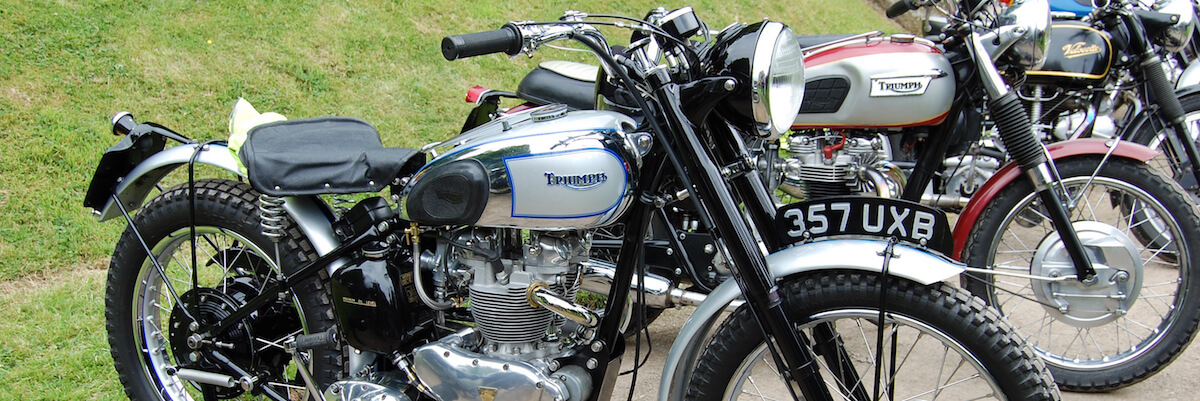 Triumph TR5 Trophy Motorcycle